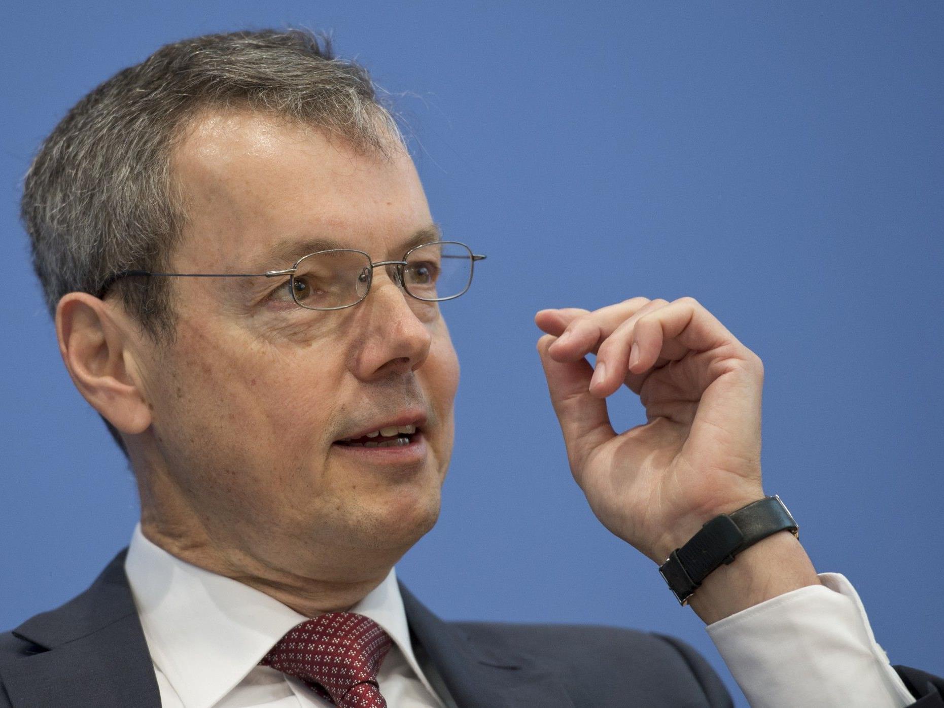 """Peter Bofinger ist auch Mitglied der fünf """"Wirtschaftsweisen"""" in Deutschland."""
