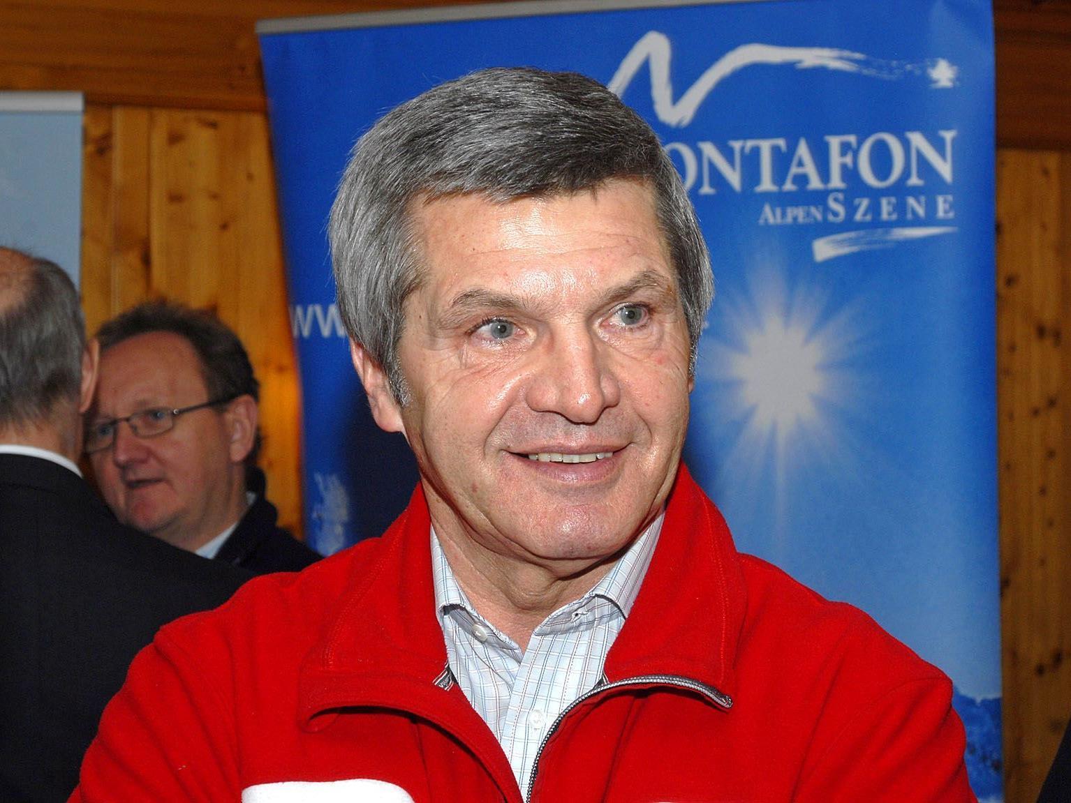 Mag. Siegmund Stemer (Foto) habe den Montafoner Talschaftsgedanken maßgebend geprägt, so Bgm. Herbert Bitschnau aus Tschagguns.