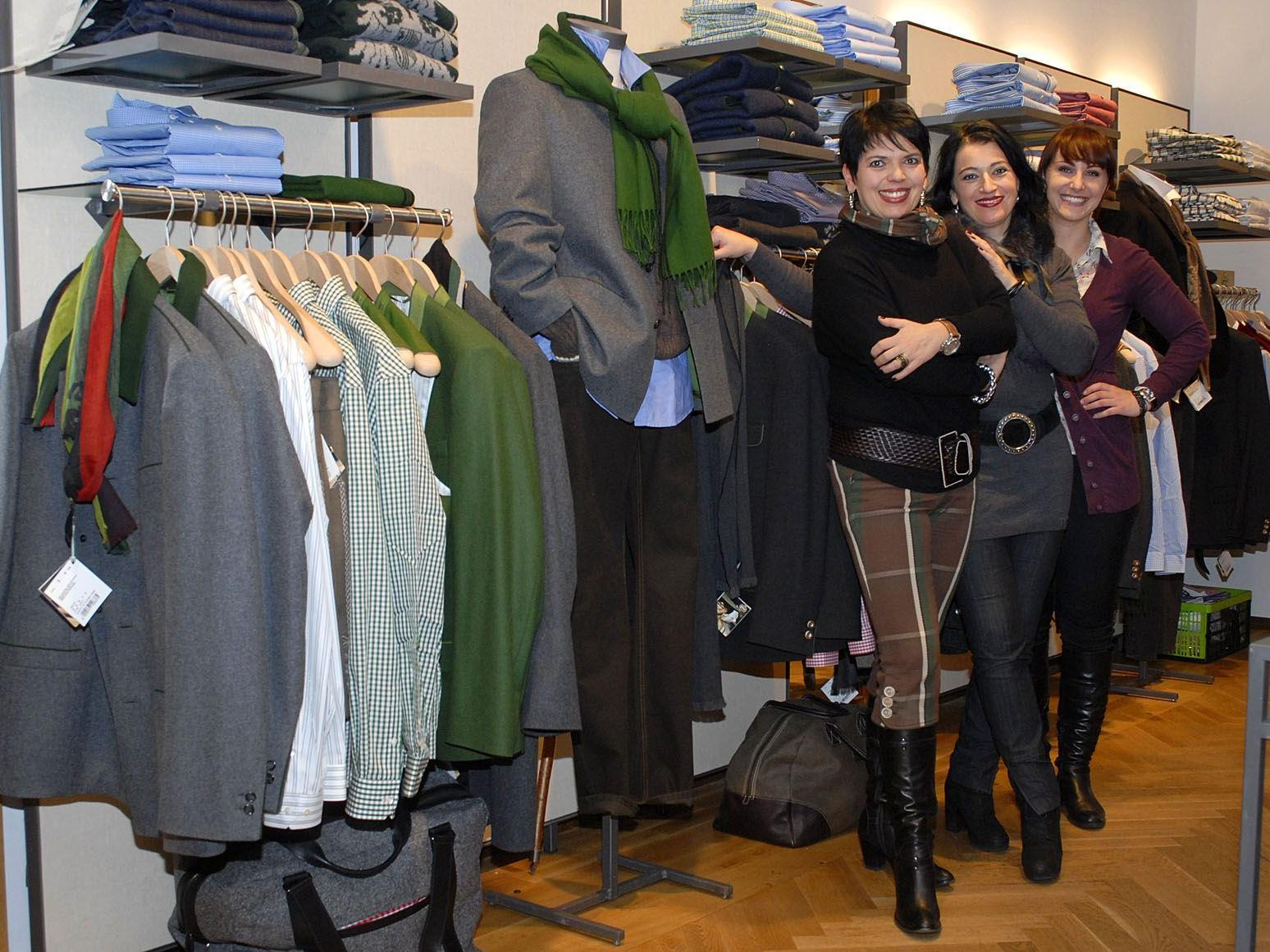 Beim Silvretta Montafon Fashion Day präsentieren ausschließlich Montafoner Geschäfte, z. B. Gössl Trachten Schruns (Bild), ihre Mode.