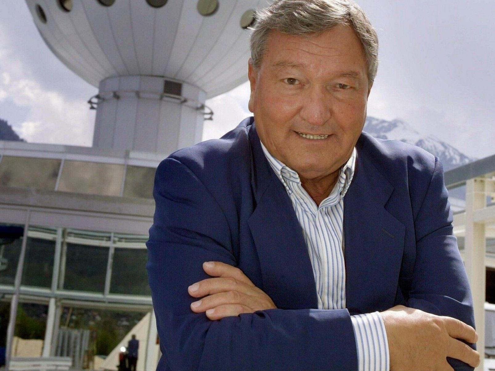 Der Schweizer Populärwissenschaftler und UFO-Forscher Erich von Däniken.