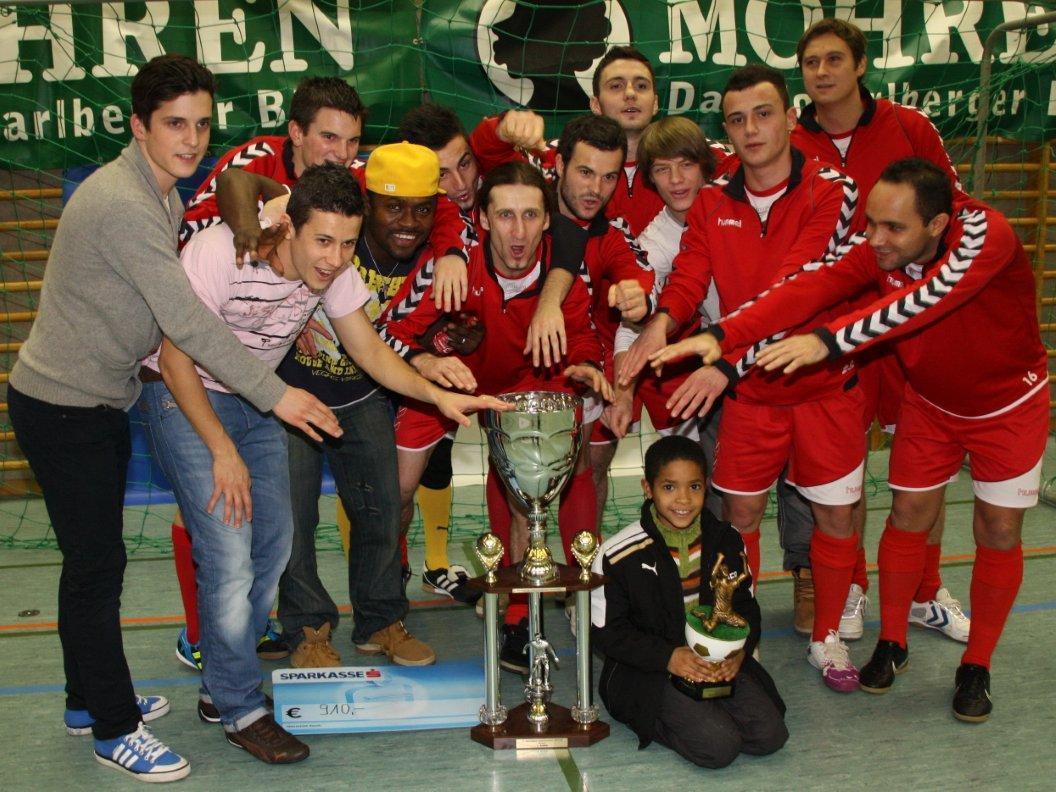 Der FC Mohren Dornbirn gewann im Vorjahr das Hallenmasters in Wolfurt und gilt nun als Gejagter.
