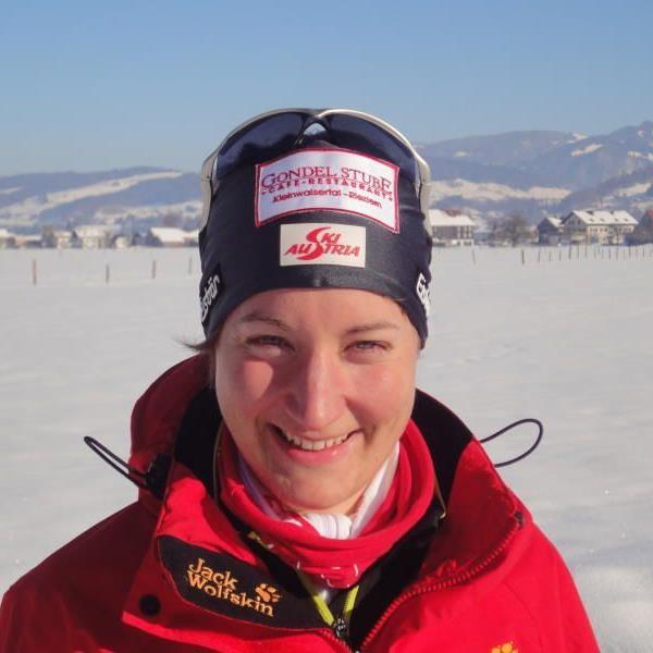 Die Andelsbucherin Ramona Düringer befindet sich wieder im Training.