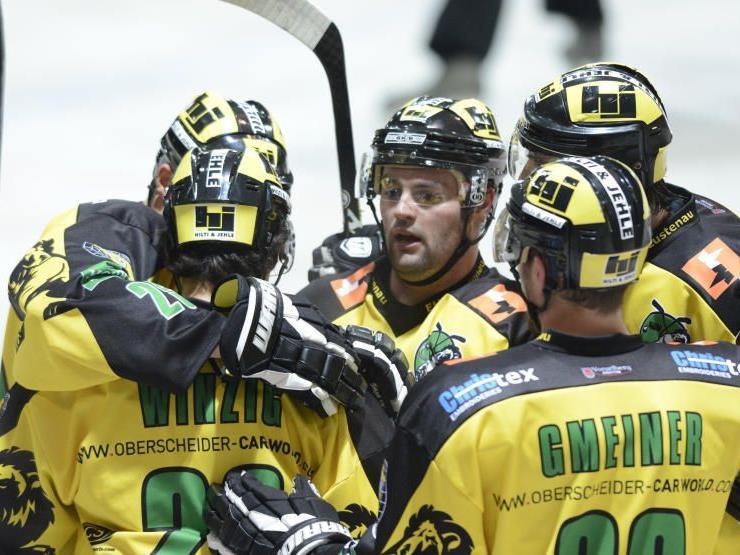 EHC Palaoro Lustenau gewinnt wie schon im Hinspiel nun auch in der Rheinhalle gegen die VEU.