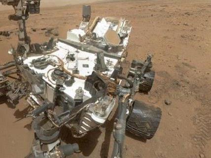 Vor der Reise zum Mars gab es Probleme mit dem Bohrer.