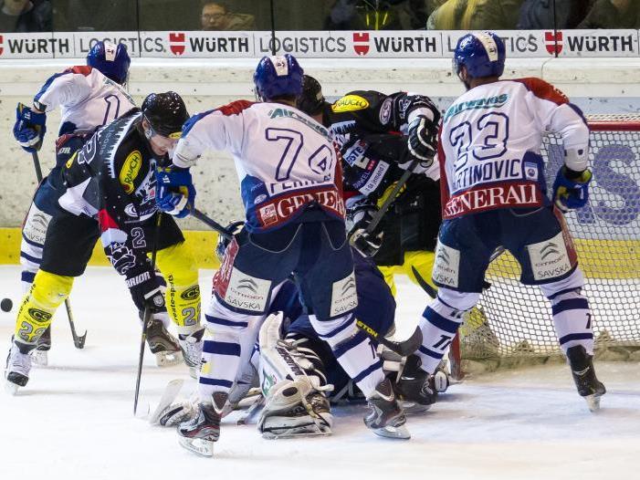Der EC Dornbirn will auch das zweite Westderby gegen Innsbruck innert weniger Tagen gewinnen.