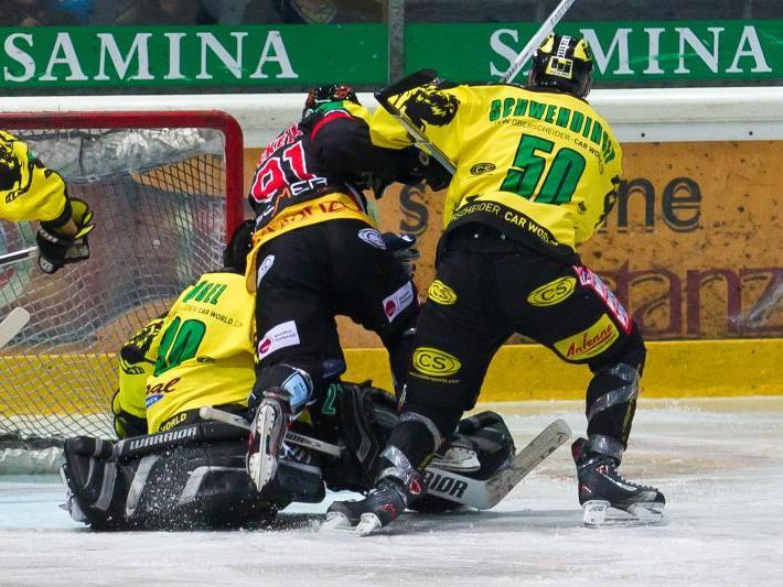 Zwei Niederlagen setzte es für den EHC Palaoro Lustenau in der Auswärtstour in Slowenien.