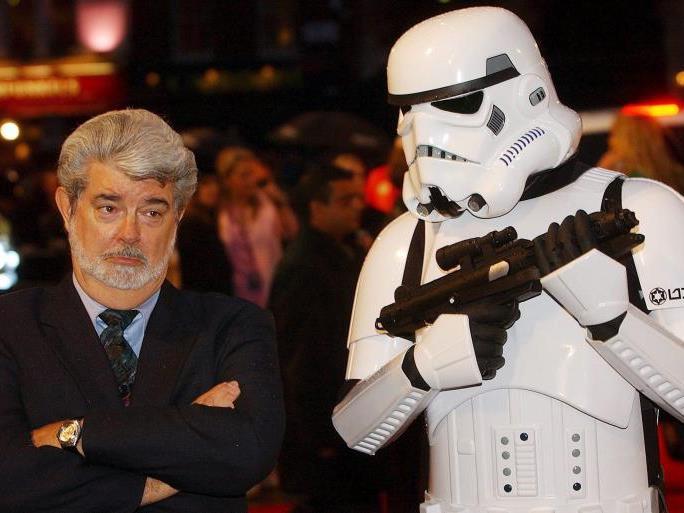 Ob sich George Lucas je erträumt hätte, dass der Todesstern Realität werden könnte?