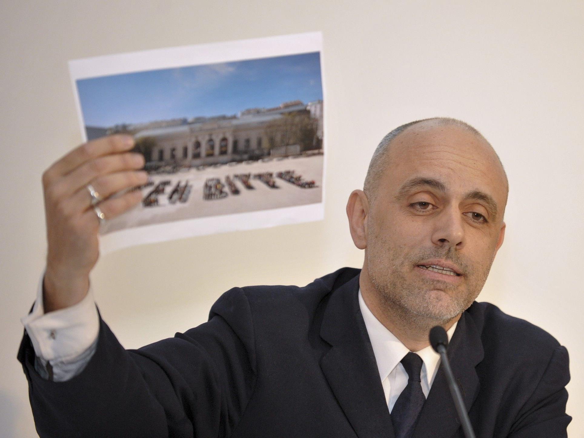 Gerald Matt ortet eine Schmutzkübelkampagne der Wiener Grünen.