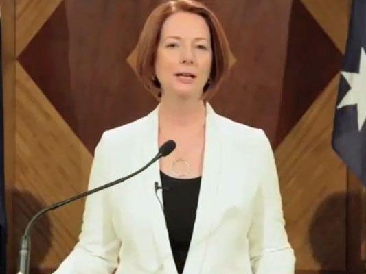 Julia Gillard bestätigt zum Spaß den nahenden Weltuntergang.