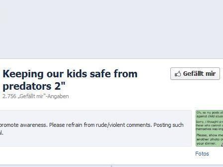 Facebook-Seite tauchte kurz nach der richterlich angeordneten Löschung unter quasi identischem Namen wieder auf.