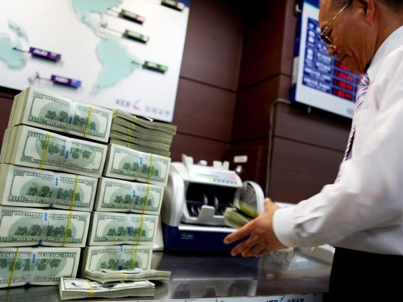 Südkorea und China wollen die Dominanz des US-Dollars zurückdrängen.