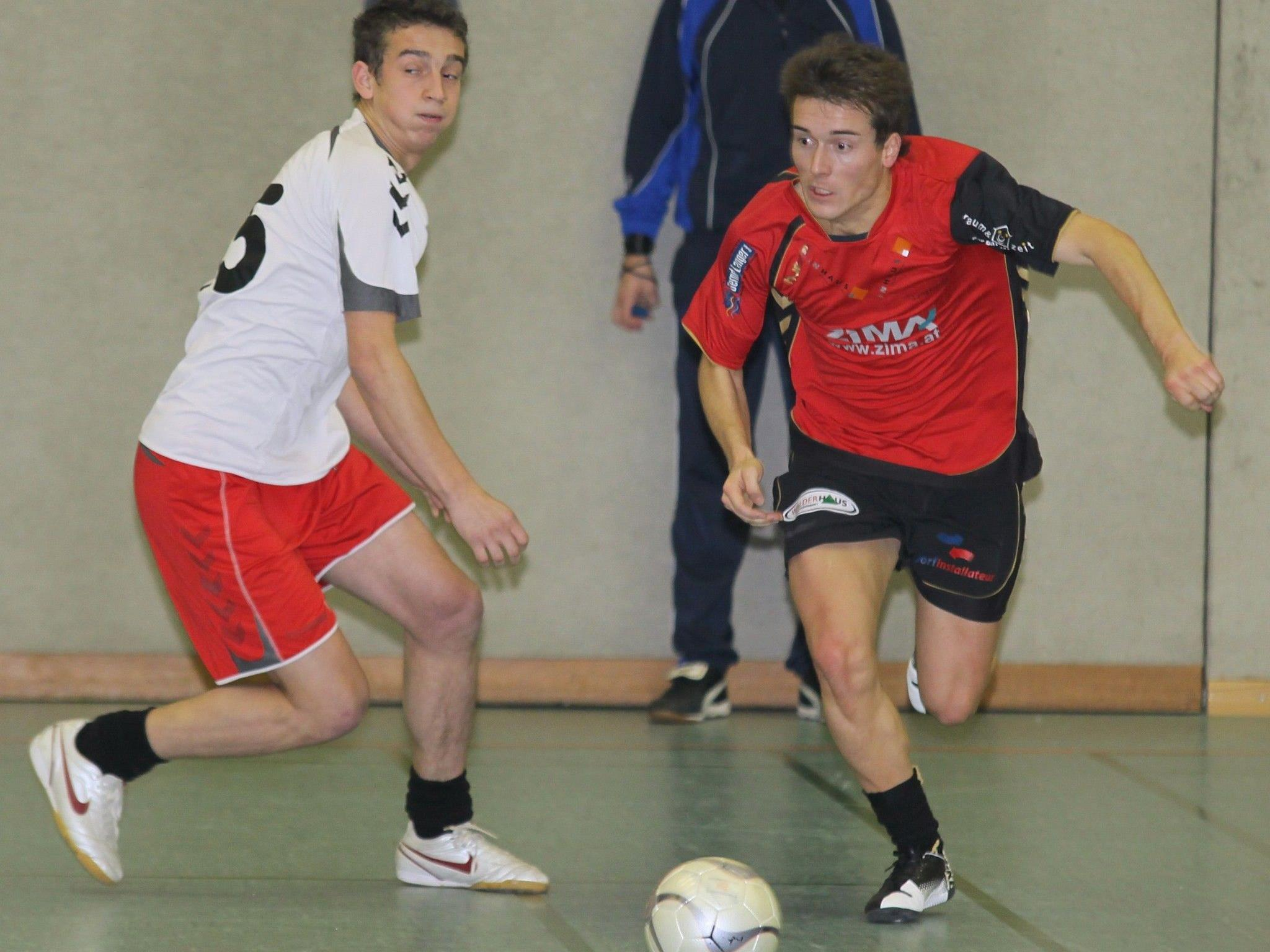 Der FC Langenegg nimmt beim Wolfurter Hallenmasters teil.