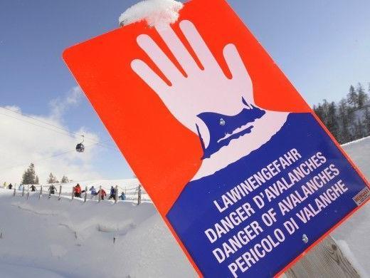 In Vorarlberg herrscht Lawinengefahrstufe 3