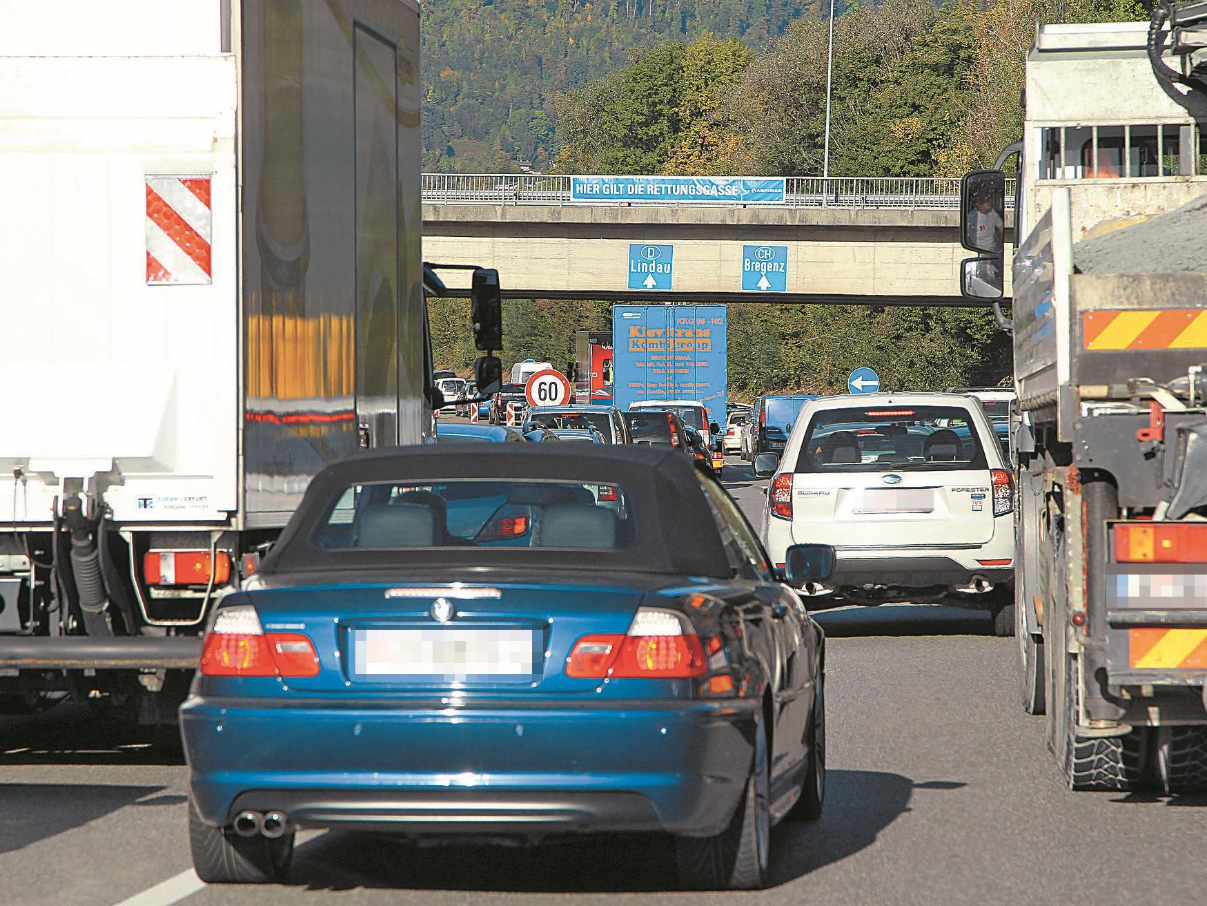 Rettungsgasse erfährt breite Zustimmung in der Bevölkerung.