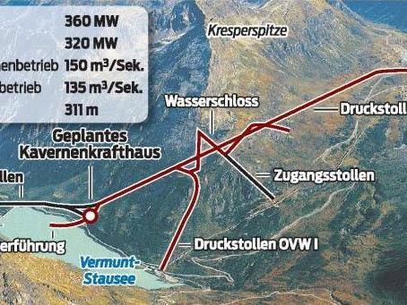 Umweltverträglichkeitsprüfung für riesige unterirdische Anlage im Kresper-Bergmassiv abgeschlossen.