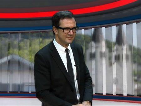 Bernhard Ölz von der Prismaholding im Ländle TV - DER TAG Studio
