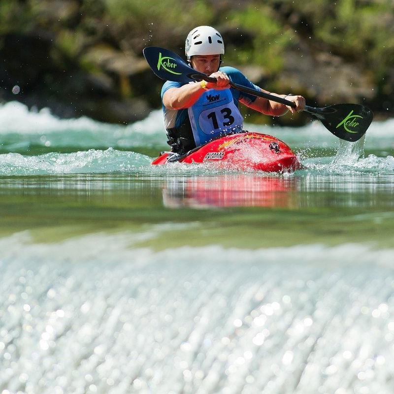 Die Extrem-Staffel mit Berglauf, Paragleiten, Wildwasser-Kajak und Mountainbike findet am 17. August 2013 im Bregenzerwald statt.
