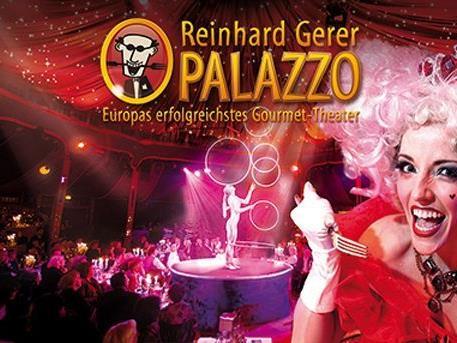 Wir verlosen 2x2 Tickets für Palazzo!