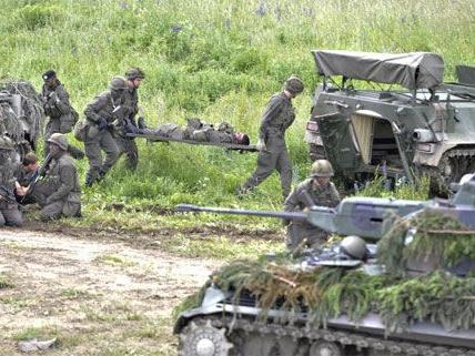Erneut ein Panzerunfall am Übungsgelände Allentsteig in NÖ.