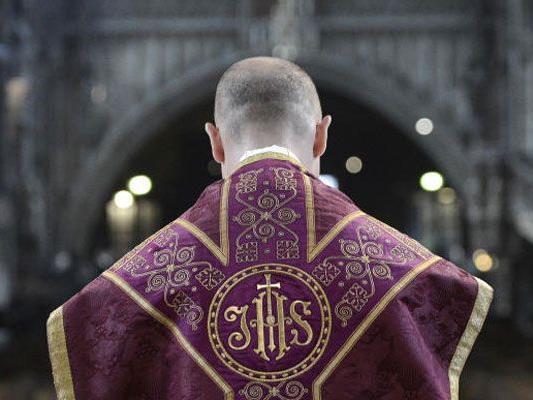 Ganz so heilig ging es bei den beiden pensionierten Priester nicht zu.