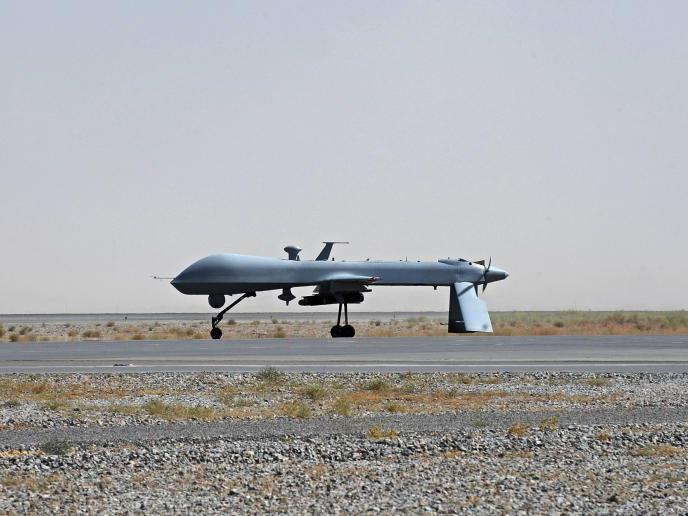 Die USA setzt seit Jahren verstärkt auf Drohnen (im Bild eine Predator Drohne in Afghanistan)..