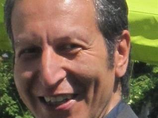 Ramin Rezvani-Nejad bei der Abschlussveranstaltung zum Haslacher Geschichtenherbst