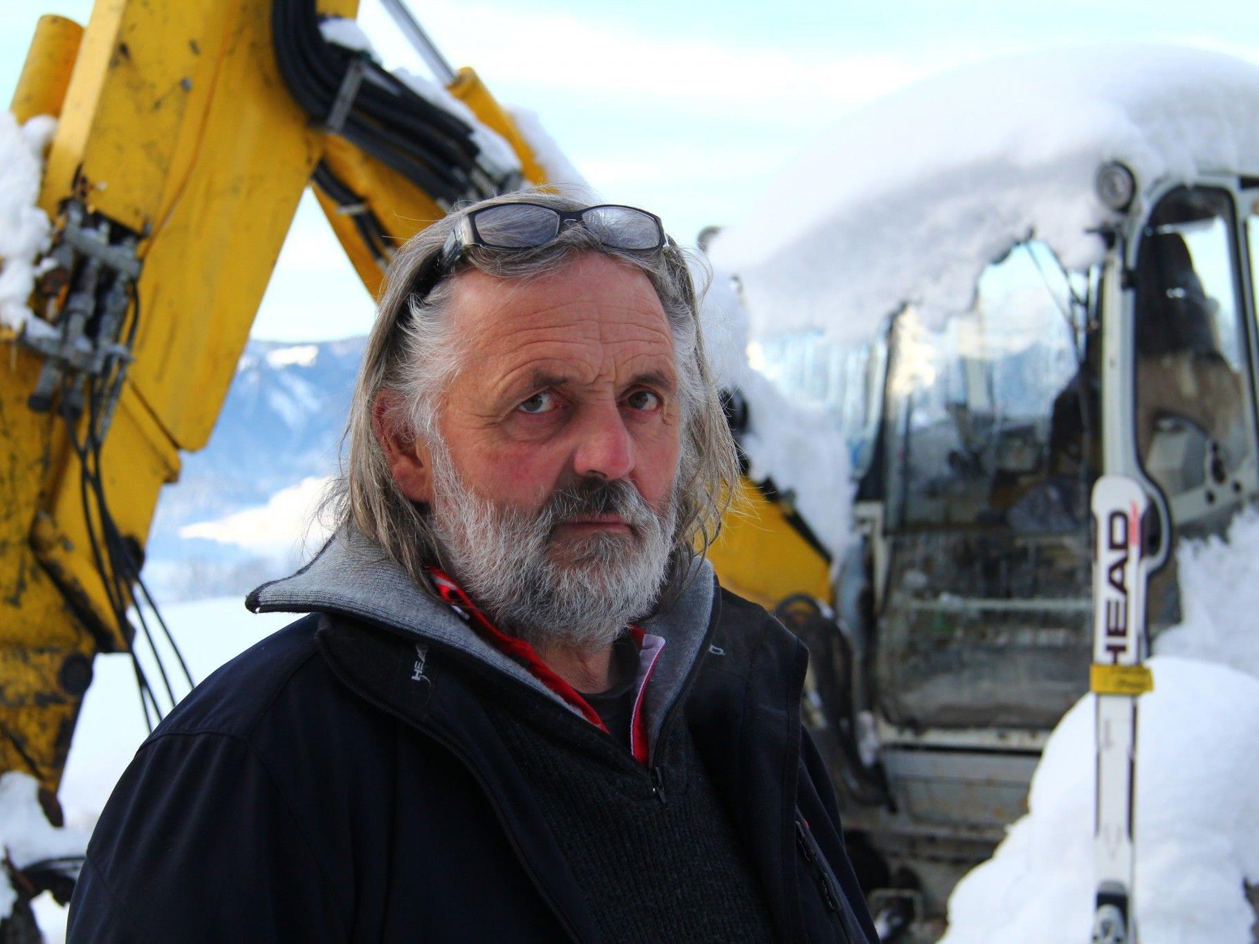 Leo Ratz (58) wurde mittlerweile aus dem Spital entlassen.