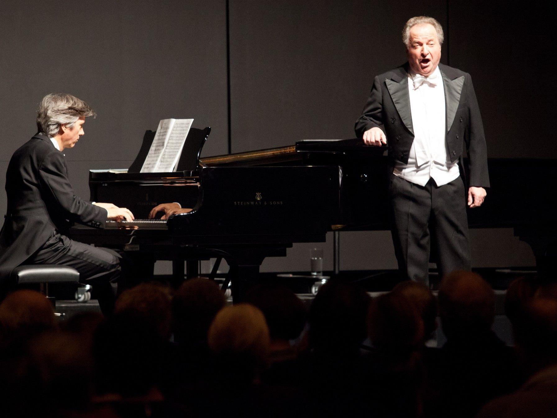 Soiree mit Komponist/Pianist Jürg Hanselmann und Tenor Karl Jerolitsch