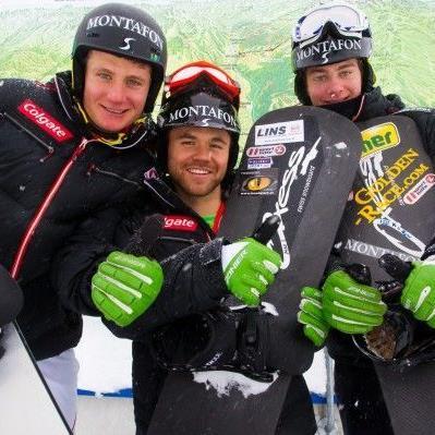 Markus Schairer mit Michael Hämmerle und Alessandro Hämmerle.