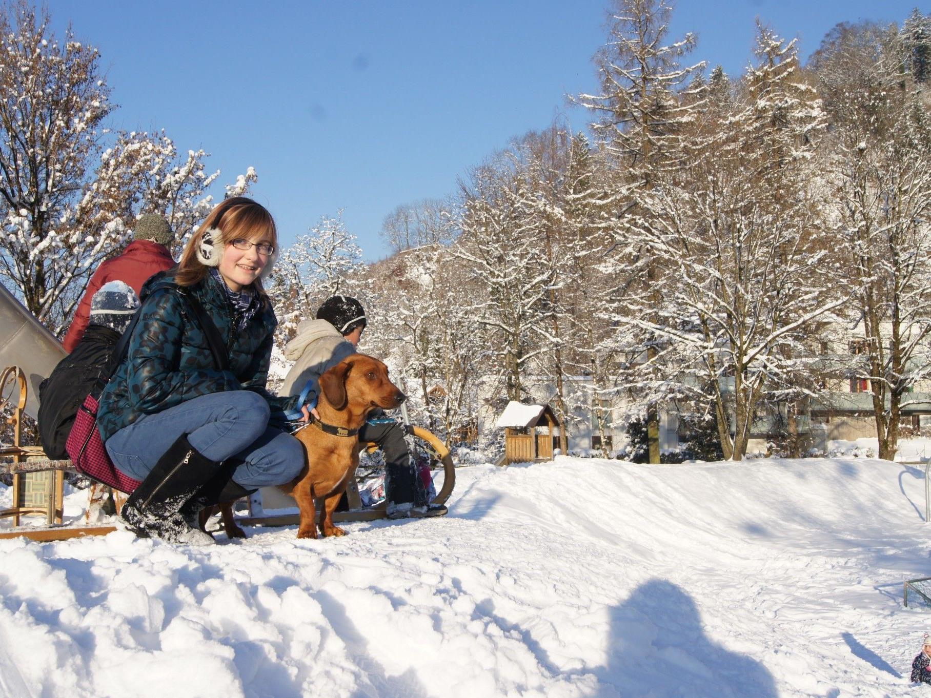 Märchenhafter Winterzauber in Dornbirn.