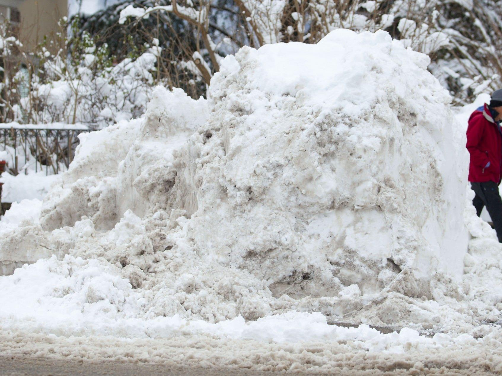 Schneeräumung als Thema im Bürgerforum.