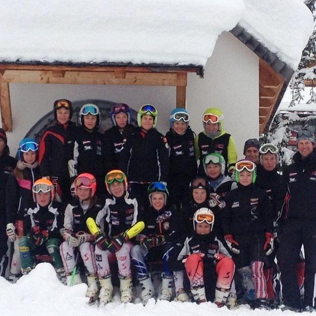 Schülerkader in Lech 2012