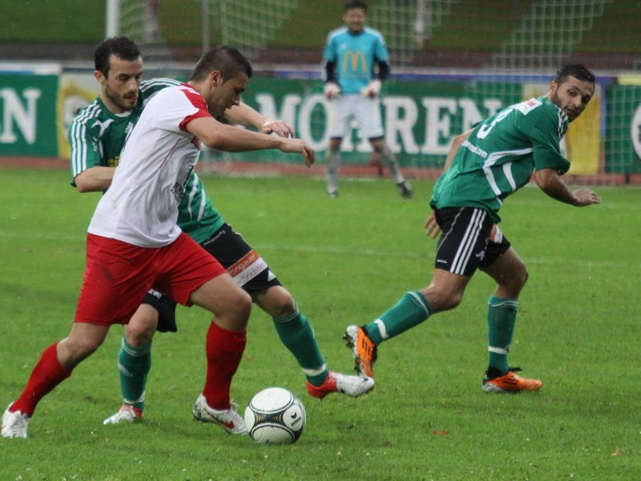 FC Dornbirn Mittelfeldspieler Dejan Stanojevic liebäugelt mit einem Wechsel zu einem anderen Klub.
