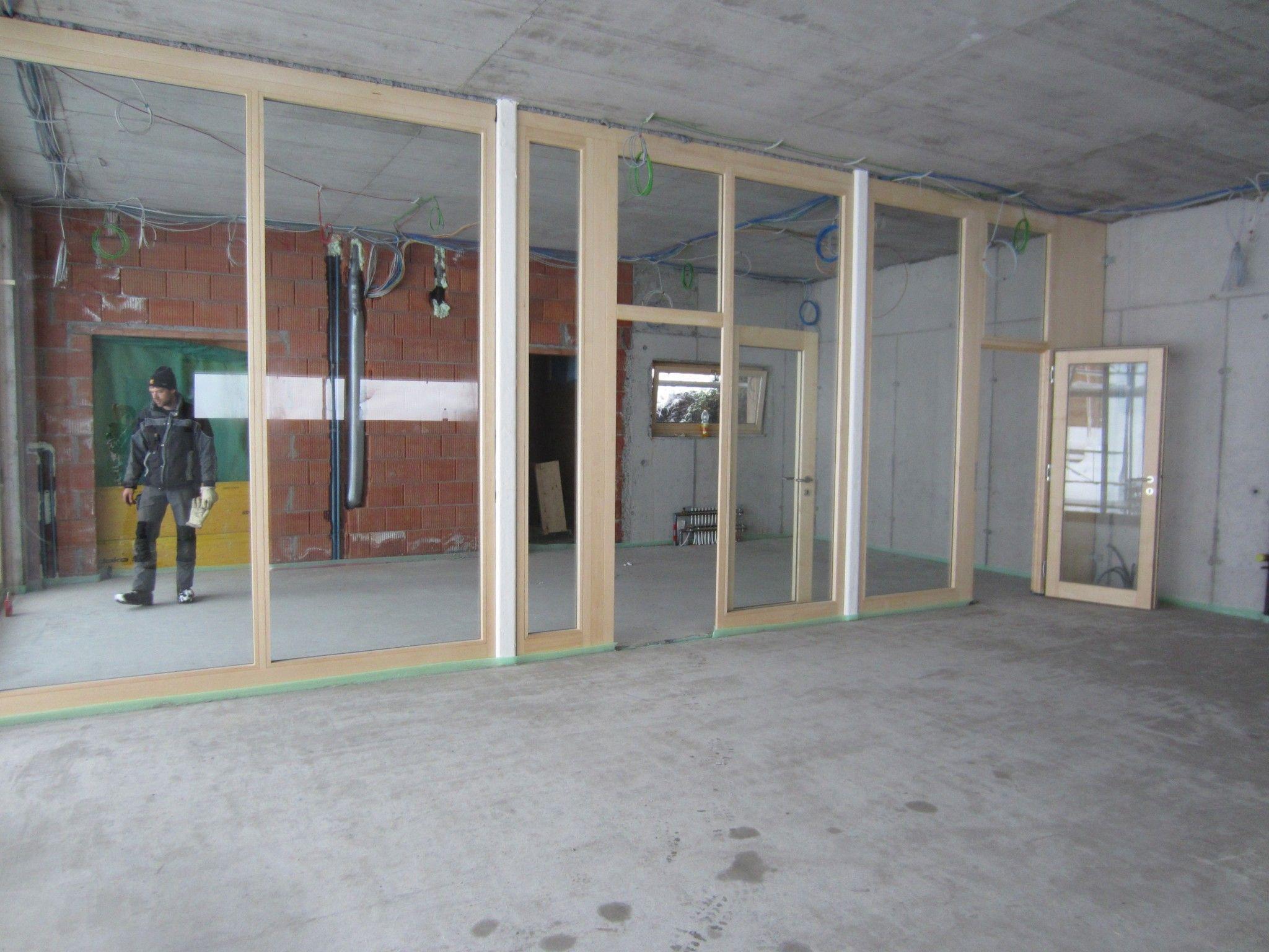 Erweiterung Bewegungskindergarten Fraxern: Die Innenarbeiten haben begonnen.