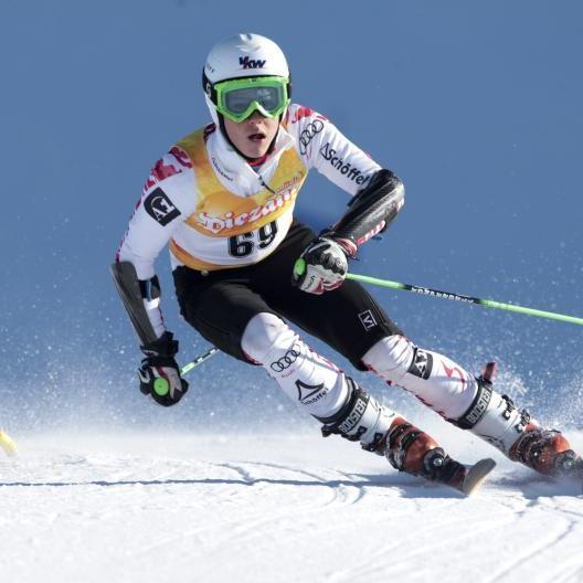 Talent Thomas Dorner ist bei den Arge Alp Rennen in Riefensberg am Start und hofft auf ein Topresultat.