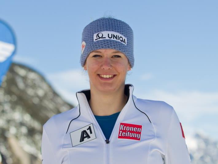 Die 18-jährige Bezauerin Elisabeth Kappaurer gewann beide FIS-Slaloms im Tiroler Kühtai.