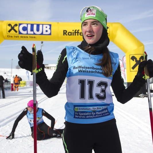 Die Schwarzenbergerin Jasmin Berchtold holt sensationell die EM-Silbermedaille.