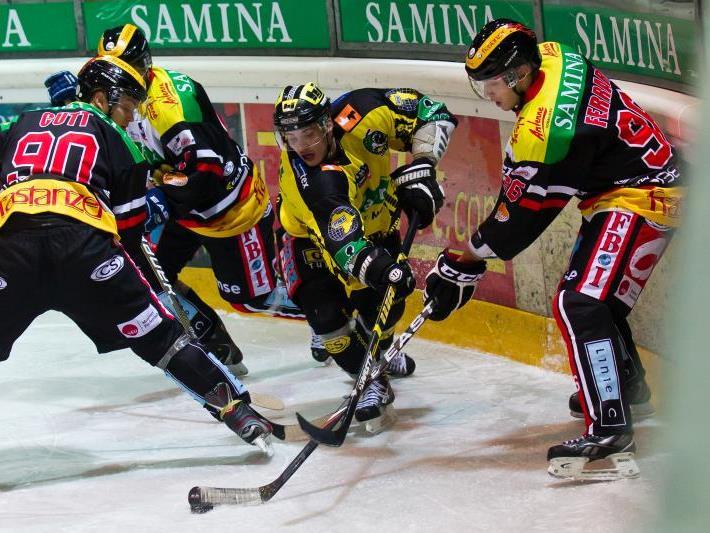 EHC Palaoro Lustenau gewinnt zum dritten Mal gegen die VEU Feldkirch und fand den Anschluss.