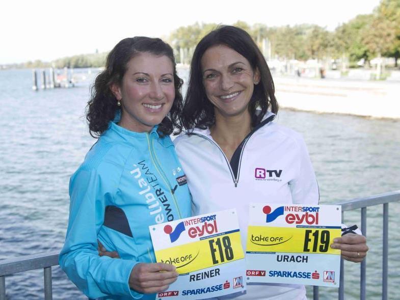 Laufwunder Sabine Reiner und Sandra Urach werden 2013 beim Heim-Marathon wohl auch zu sehen sein.