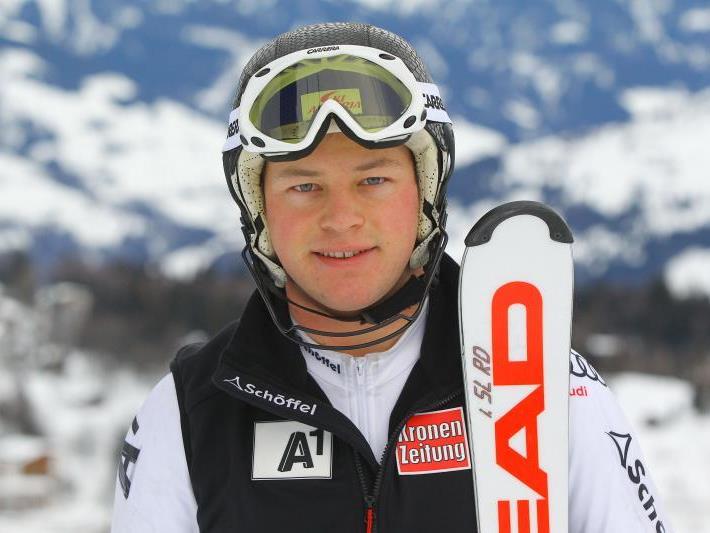 Der Dornbirner Bernhard Graf gewann in Arosa den FIS Super G und holte wichtige Punkte.