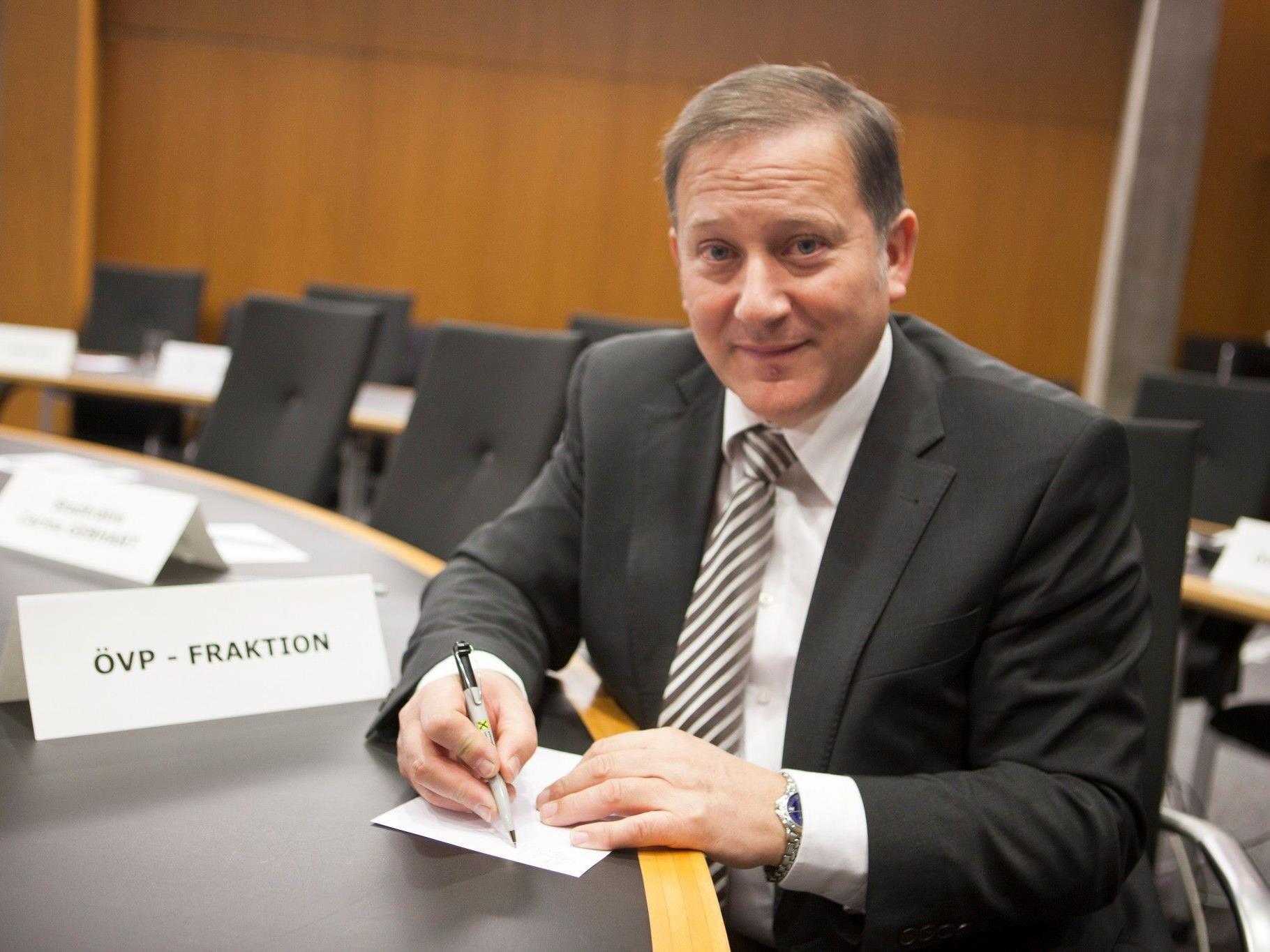 """Finanzstadtrat Vonbank: """"Budget der Vernunft und des Augenmaßes."""""""