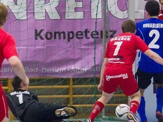 Fußball-Action wird beim Hallenmasters in Wolfurt geboten - live auf VOL.AT
