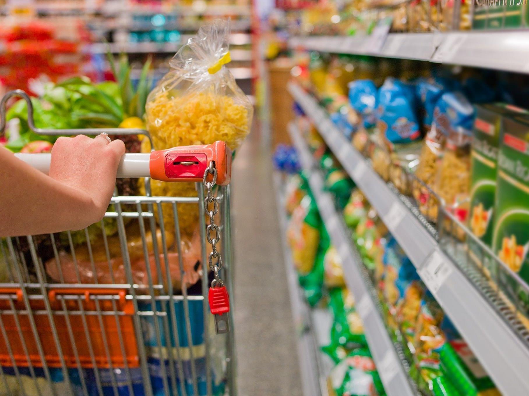 Vor allem Lebensmittel wurden teurer.