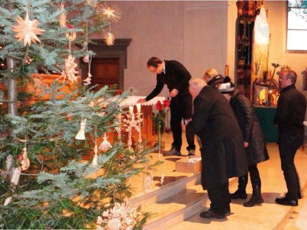 """Die Katholische Männerbewegung und """"Papa gibt Gas"""" laden zur Weihnachtsfeier nach Bildstein."""