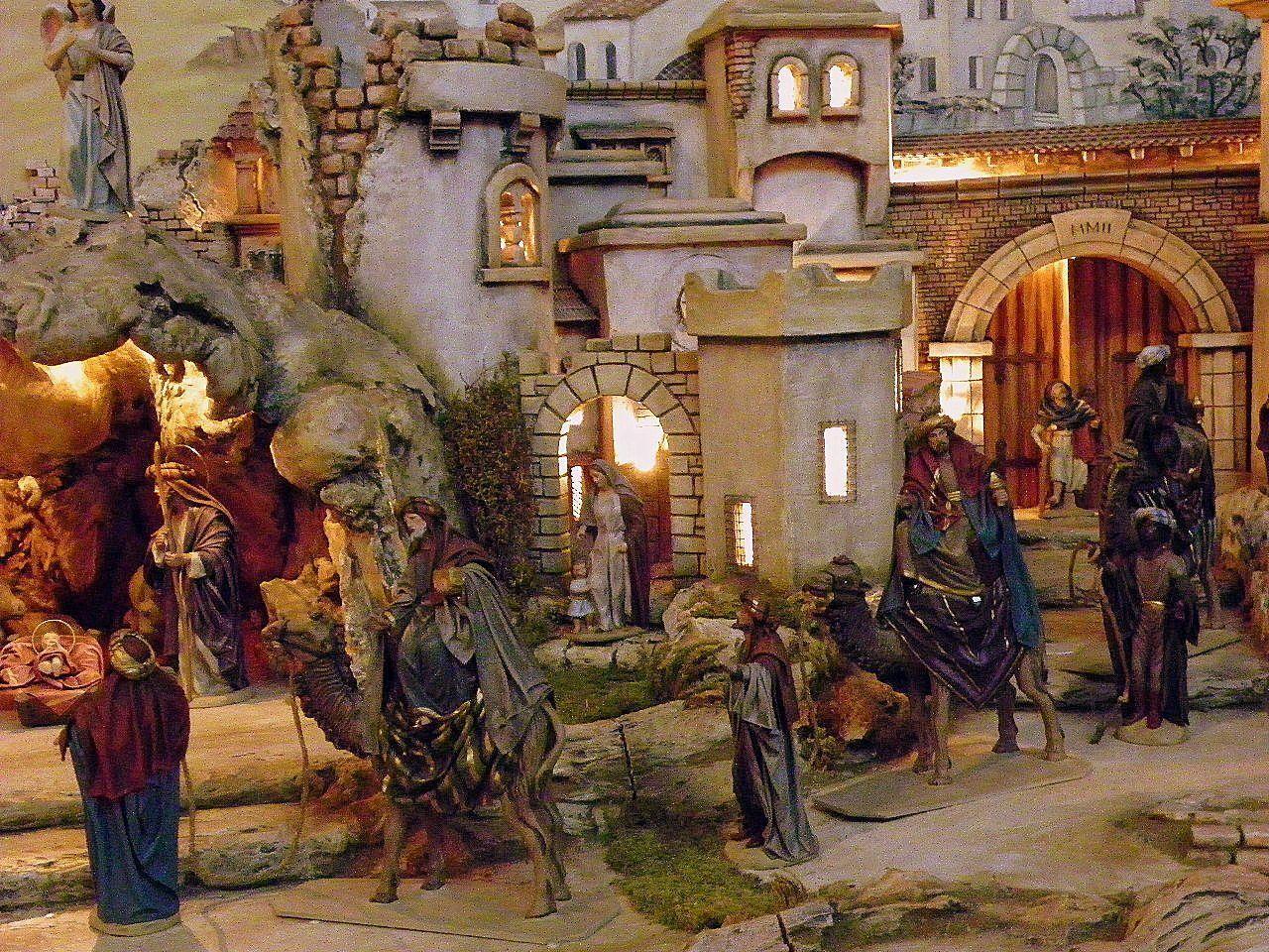 Ankunft der Heiligen Drei  Könige