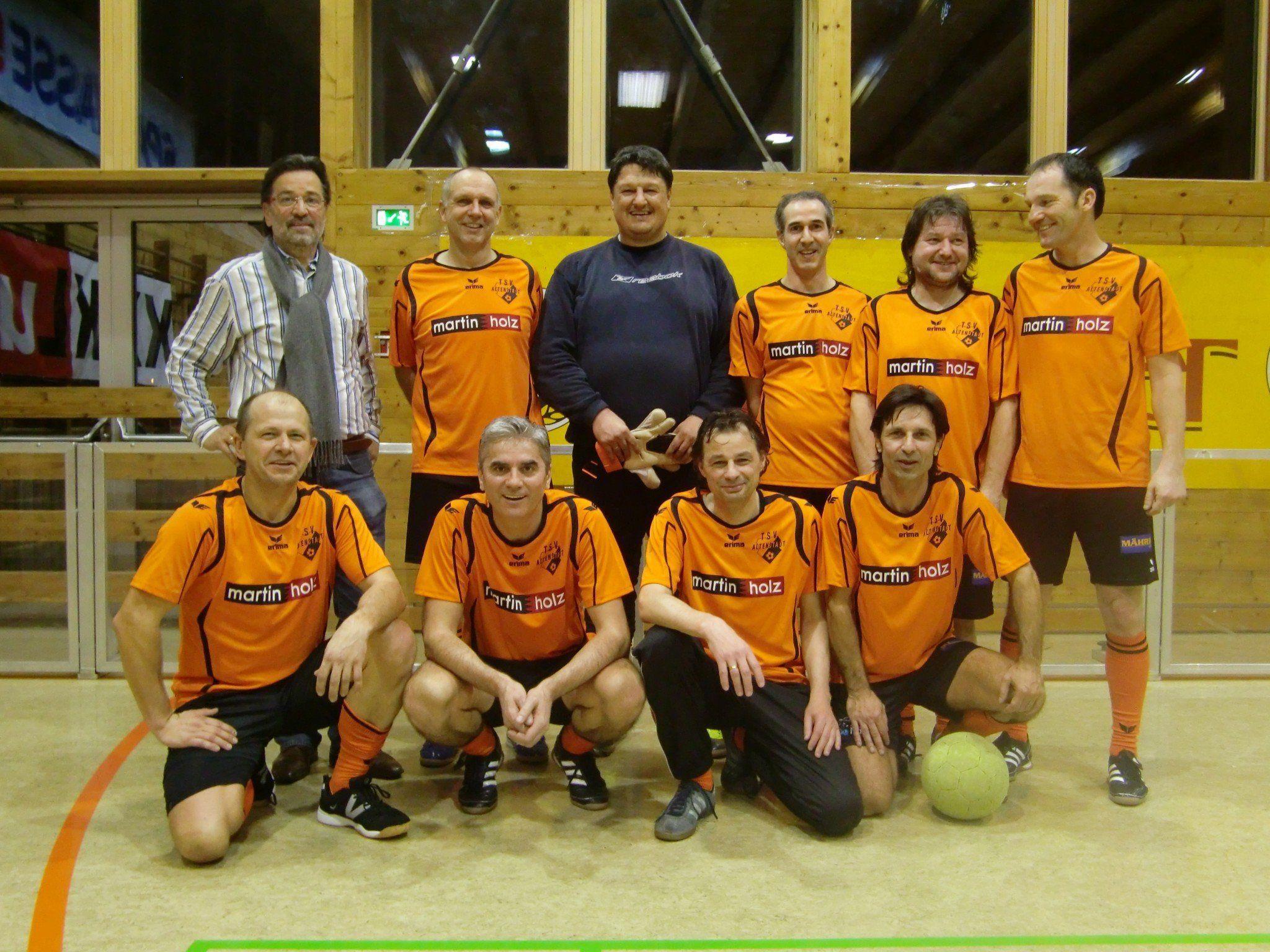 AH Altenstadt – Sieger bei den Veteranen (Ü40)
