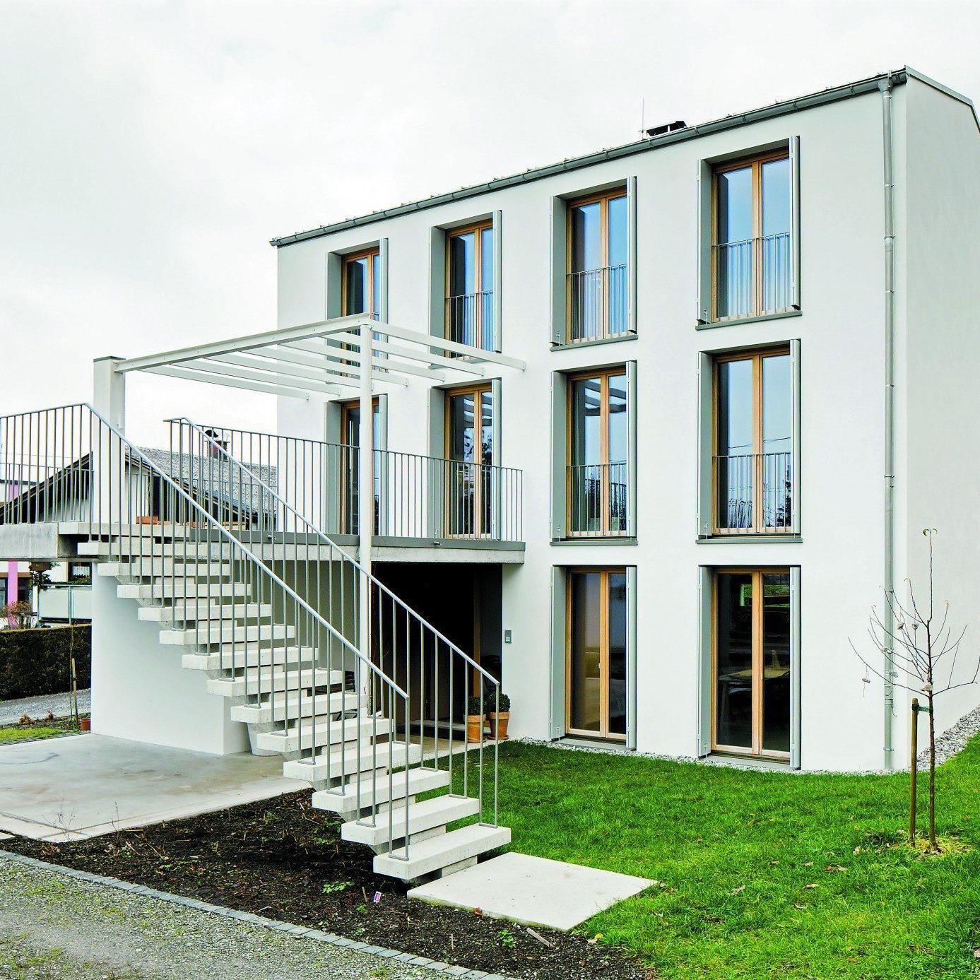 """""""Ein Haus, Wand, Fenster, Giebel, keine Kiste – zeitlos."""" (Bernhard Berger, Architekt)"""