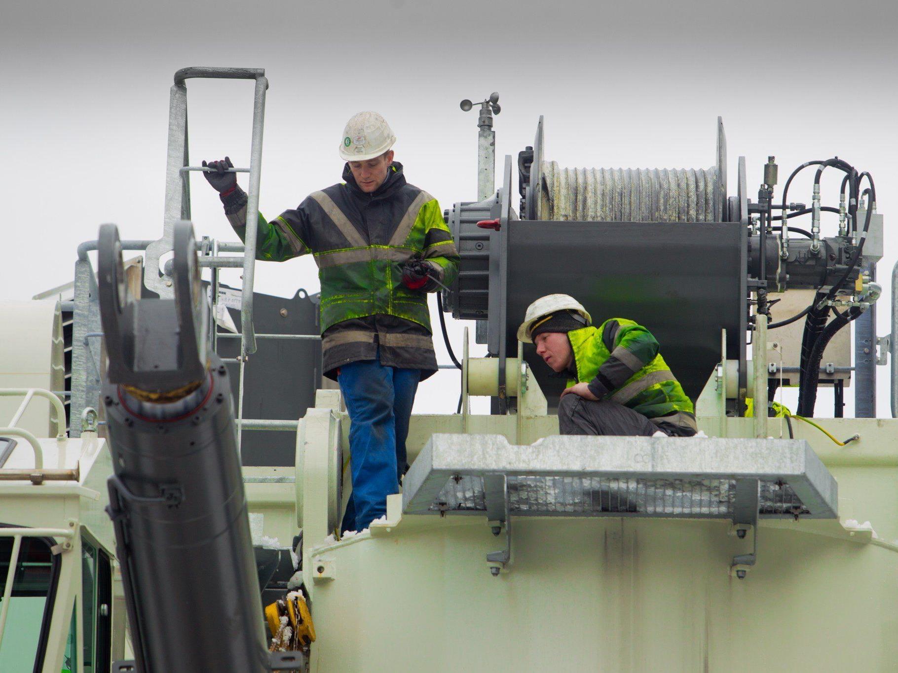 Liebherr hat 2012 auch den Mitarbeiterstand auf 1687 aufgestockt. 40 neue Jobs wurden geschaffen.
