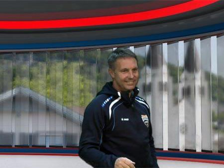 Damir Canadi im Ländle TV - DER TAG Studio