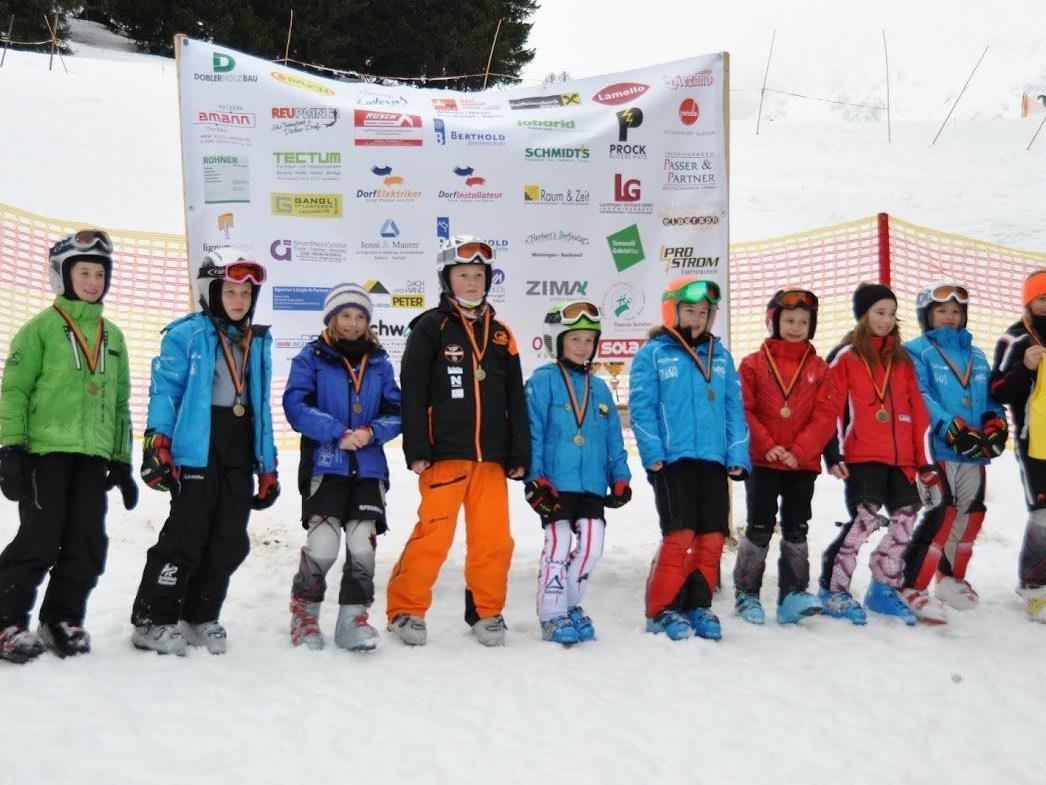 Die Teilnehmer am COMBI- Race in BRAND